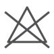 Symbol: Nicht bleichen