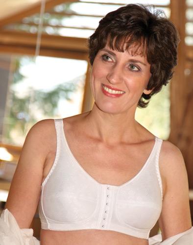 Spezial BH für brustoperierte Frauen, Modell Easy Fit - Art. 123 in weiß