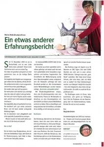 Frau Schärtl berichtet über die Maß-Brustversorgung